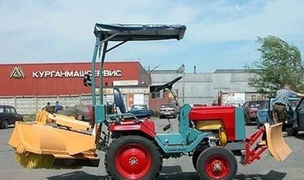 """Мини-трактор """"КМЗ 12"""" - его основные параметры и технические характеристики"""