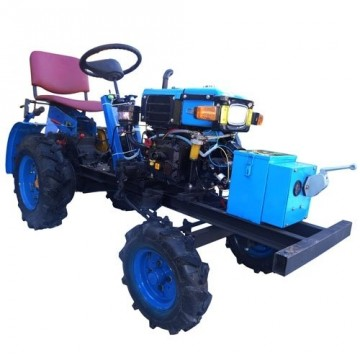 Как сделать мини-трактор на основе мотоблока нева своими руками