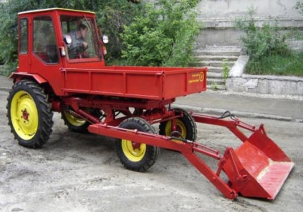 оборудование трактора т-16