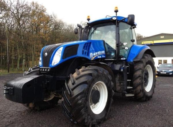 Тракторы нью холланд - Т8