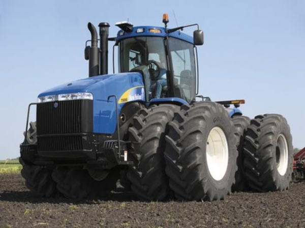 Новое поколение тракторов нью холланд - Т9000