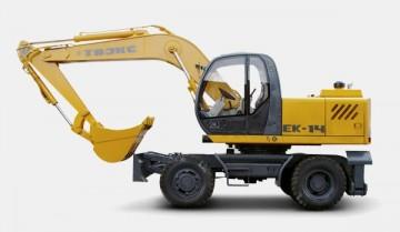Обзор экскаватора ЕК 14: технчиеские характеристики, преимущества, основные модификации