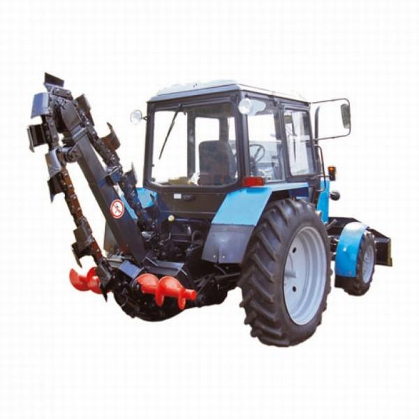 траншейный экскаватор на базе трактора мтз