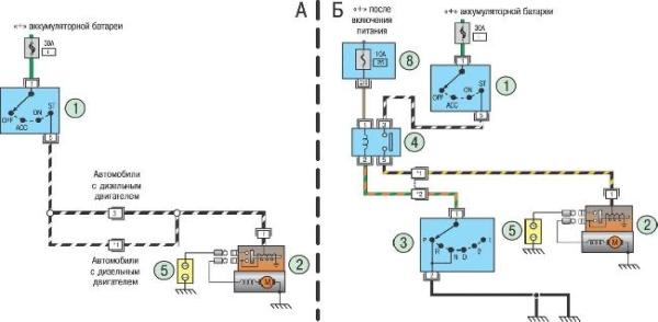Характеристики JCB 4CX - электрооборудование