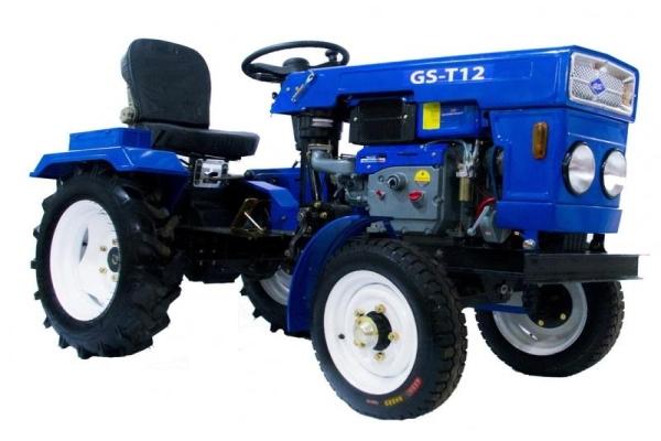 Описание и технические характеристики мини-трактора Булат-120