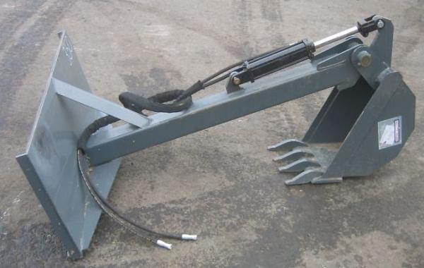 Процесс изготовления самодельного мини-экскаватора