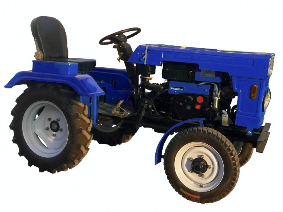 Міні трактори з мотоблока фото