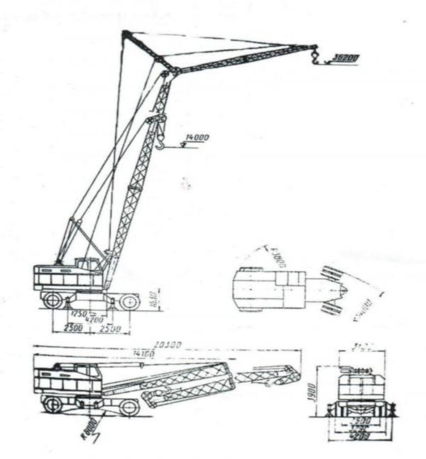 Кран КС-5363 - особенности и характеристики