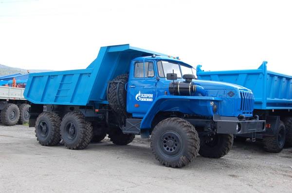 Модификации автомобиля Урал 5557 - Урал 55571-40