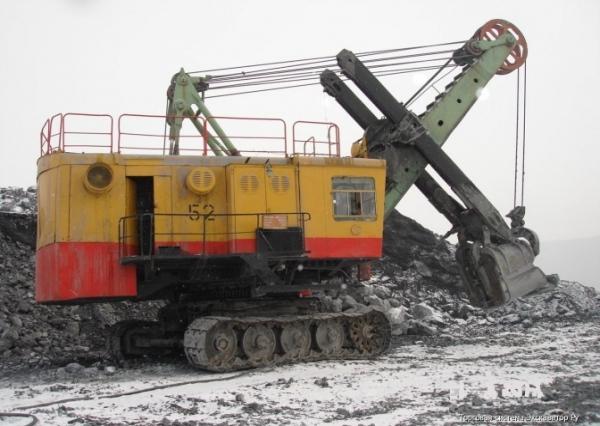 Обзор и технические характеристики каръерного экскаватора ЭКГ-5А