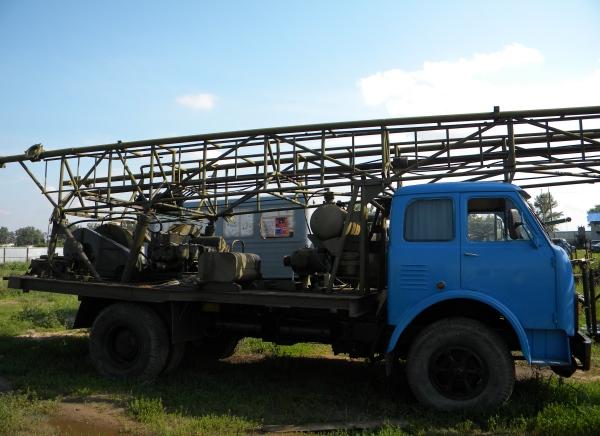Обзор буровой установки 1БА-15в