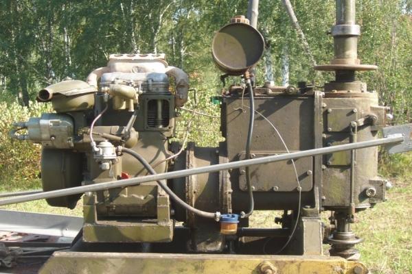 Обзор буровой установки УДВ-25