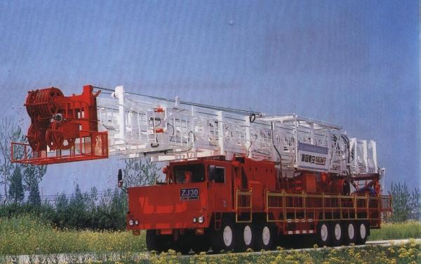 Особенности и характеристики буровой установки zj 30