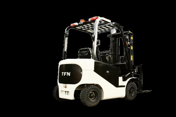 Недостатки и преимущества, параметры электропогрузчиков TFN