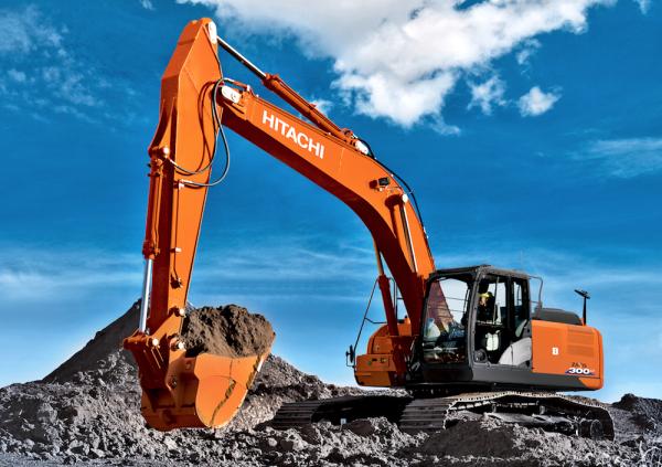 Возможности нового экскаватора Hitachi-ZX300LC-6