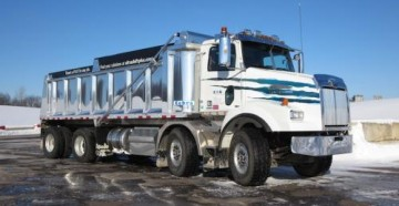 Презентация нового грузовика 4800 SB от Western Star