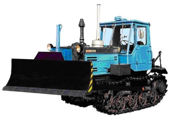 Конструктивные особенности бульдозеров Т-150