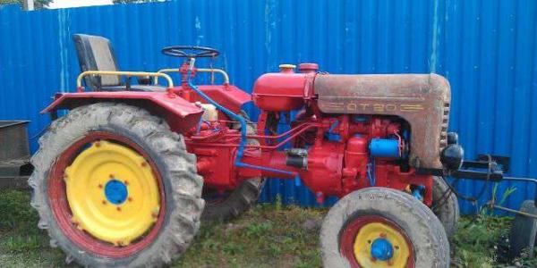 Модификации, оборудование и устройство трактора ДТ-20