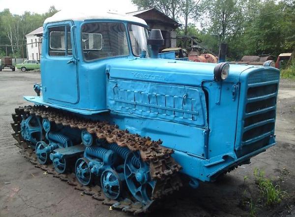 Конструктивные особенности трактора ДТ-75М