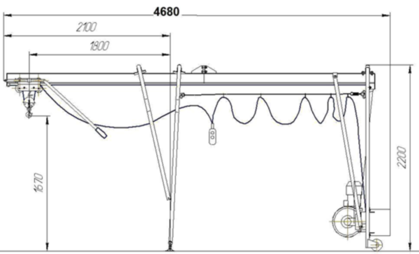 Устройство, параметры и характеристики подъемника Умелец