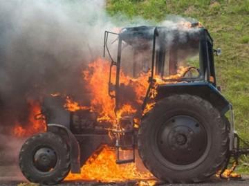 Мнение экспертов о причинах возгорания спецтехники