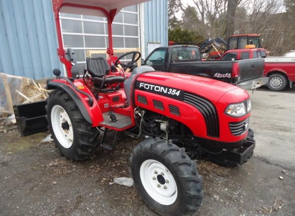 Характеристики и особенности трактора Фотон 354