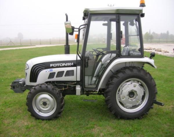 Характеристики и особенности трактора Фотон 504