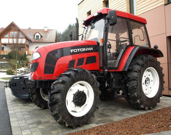 Параметры и особенности трактора фотон 904