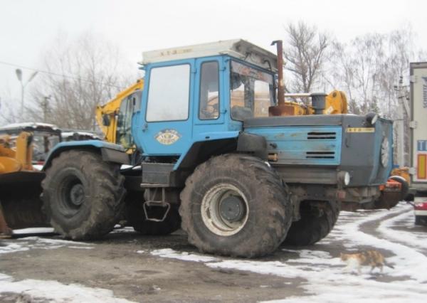 Устройство и параметры трактора htz 17221