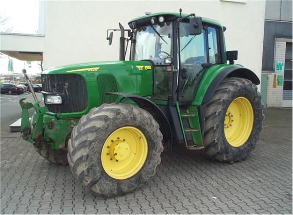 Технические характеристики тракторов Джон Дир серии 6D