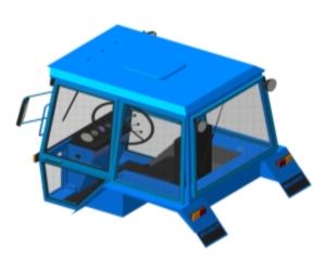 Механизм задней навески для МТЗ-80 (каталог запчастей)
