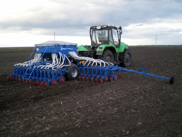 Характеристики и конструктивные особенности зерновых сеялок быстрица