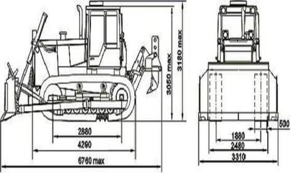 Болотная модификация трактора