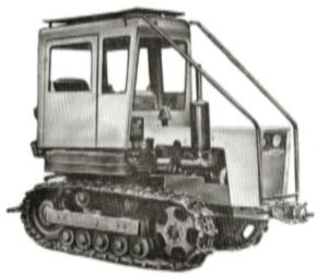 Трансмиссия трактора Т-70