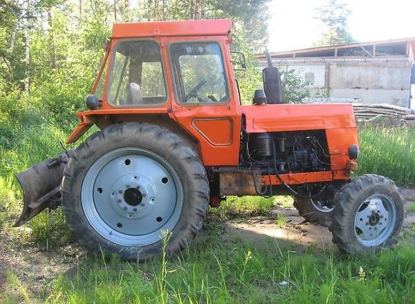 Обзор трактора ЛТЗ-50 - его
