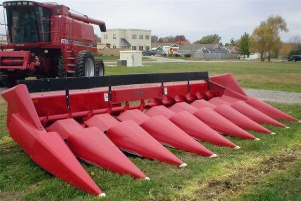 Обзор кукурузных жаток от компании Case