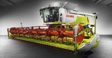 Серии, характеристики, особенности зерноуборочных комбайнов Claas