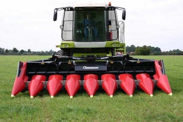 Характеристики жаток для кукурузы Герингоф