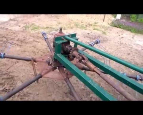 Необходимые материалы и инструмент для изгтовления роторных граблей на трактор