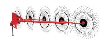 Характеристики, устройство, принцип работы граблей ворошилок гвк-6