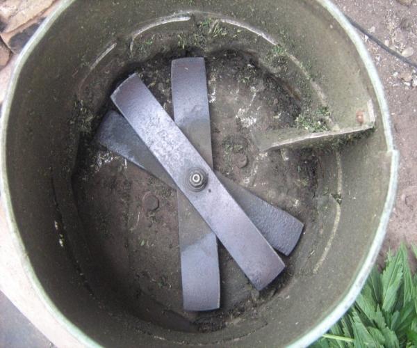 Инструкция и необходимые материалы для изготовления кормоизмельчителя для травы