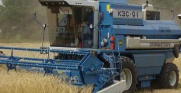 Характеристики, устройство и особенности зернового комбайна славутич