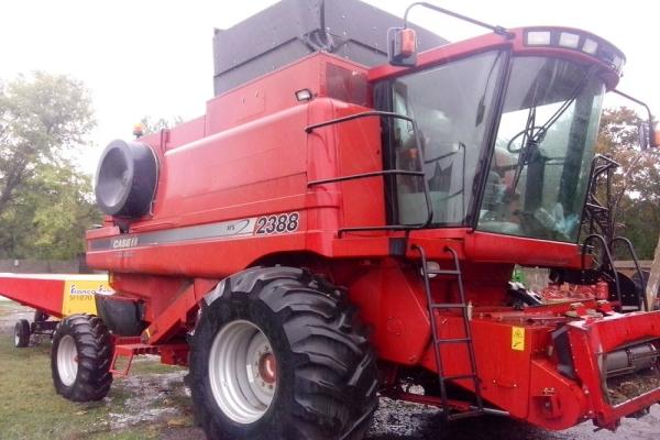 Устройство, особенности, преимущества и недостатки зерноуборочного комбайна case 2388