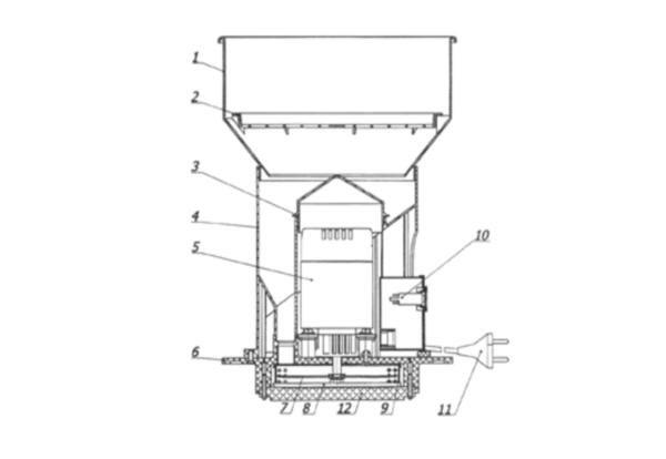 Устройство и принцип работы зернодробилки колос 2м