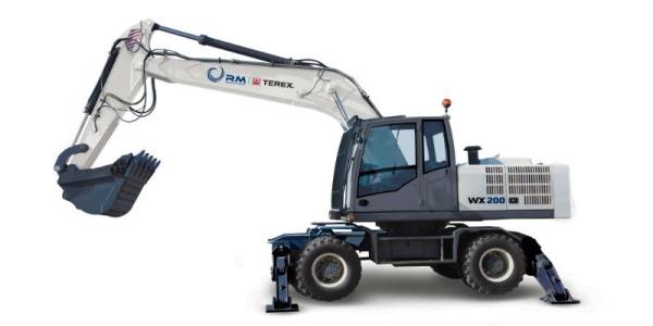 Особенности нового экскаватора Терекс, выпущенного в России WX200