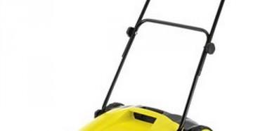 Характеристики, устройство и принцип работы подметально-уборочной машины Karcher S 550