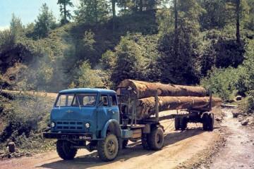 Технические характеристики, модификации и устройство лесовозов МАЗ-509