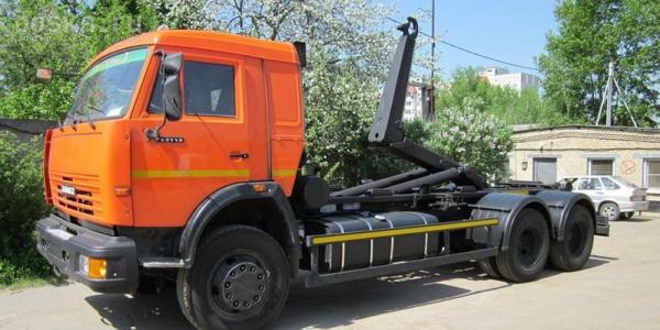 Технические характеристики мультилифтов на базе шасси Камаз грузоподъемностью до 20 тонн