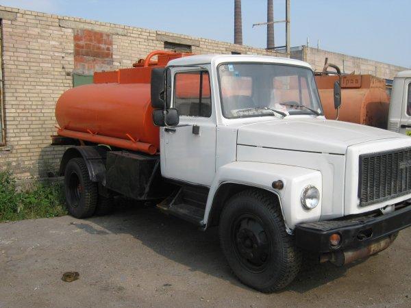 Технические характеристики бензовоза на базе автомобиля ГАЗ-3307
