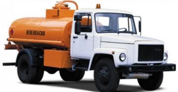 Характеристики, устройство и особенности бензовоза на базе ГАЗ-3309